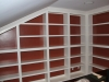 Bookcase Interior Painting